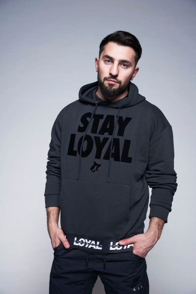 Stay Loyal Hoodie Anthracite