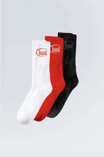 Circle Socks 3er Pack