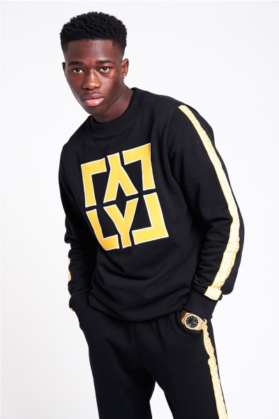 LYL Square Crewneck Sweater