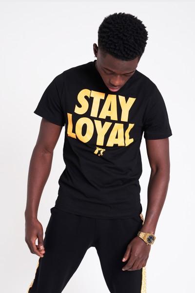 Stay Loyal Tee Yellow