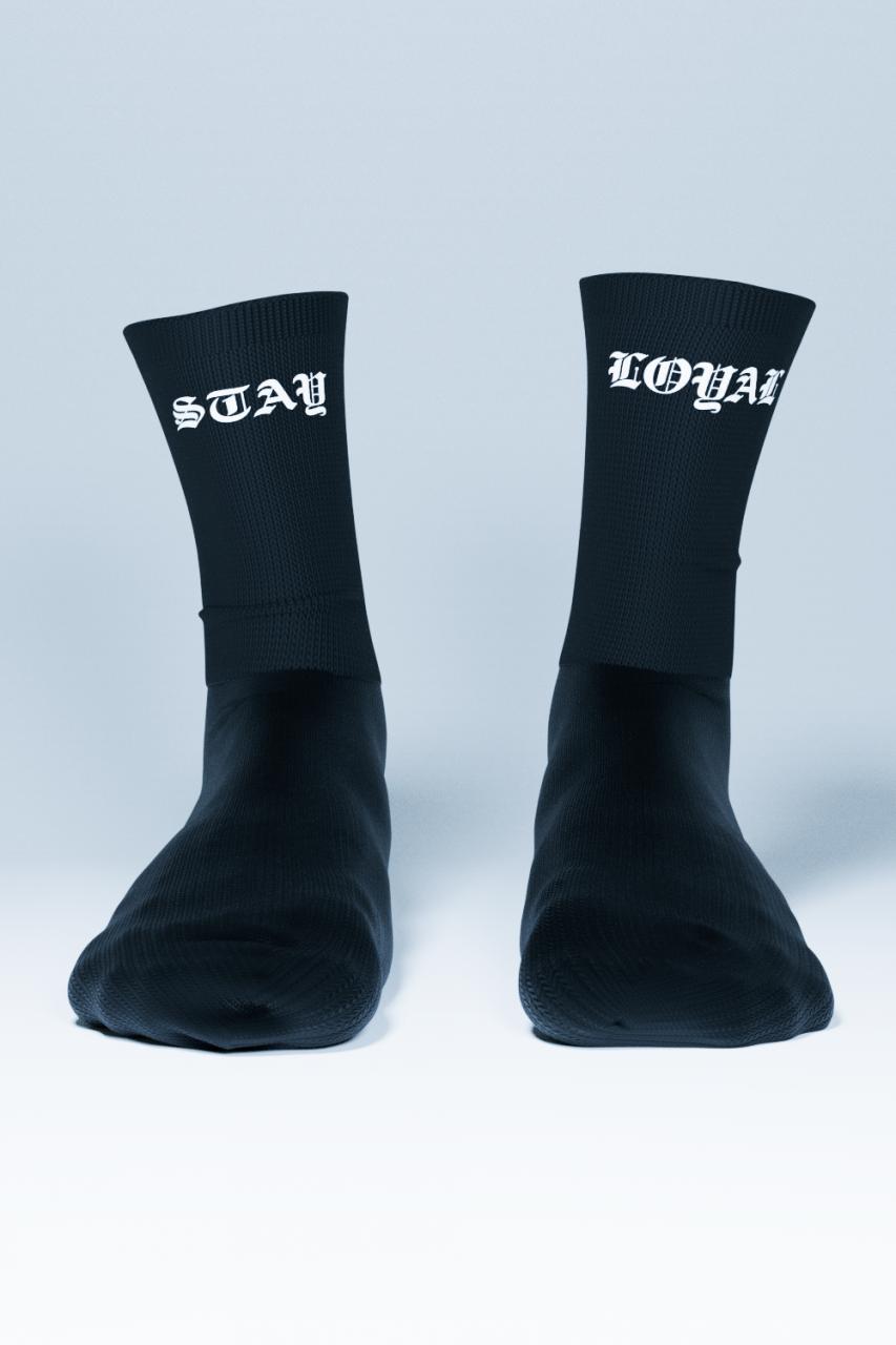 Stay Loyal Socks Black