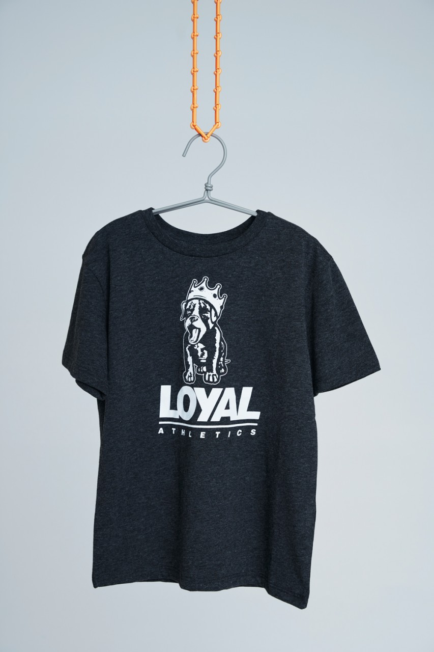 Loyal Puppy Anthracite Tee