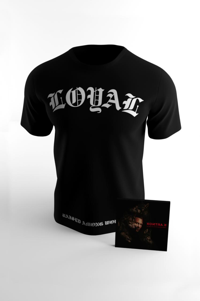 ADLIDSZ Album & T-Shirt Bundle Raised Among Wolves