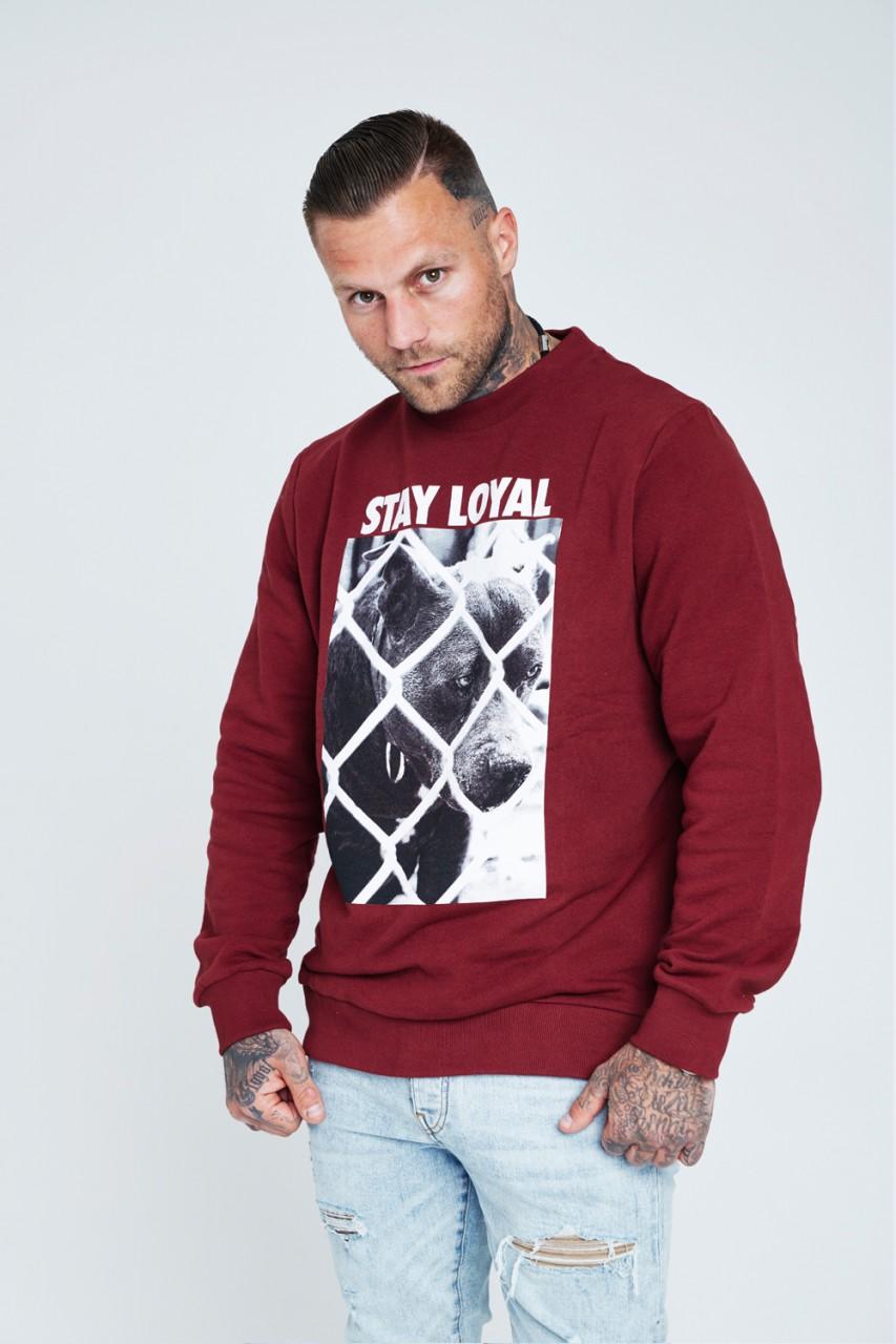 Stay Loyal Dog Crewneck Sweater
