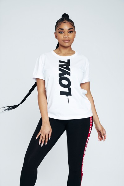 Loyal Women's Drip Tee White