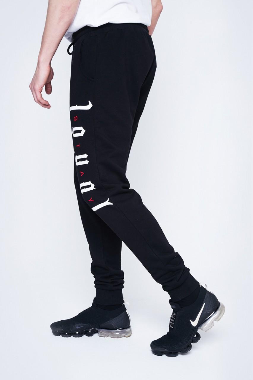 Stay Loyal Black Pants