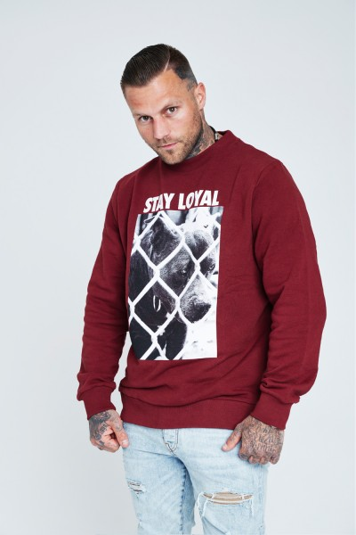 Stay Loyal Dog Crewneck Sweater