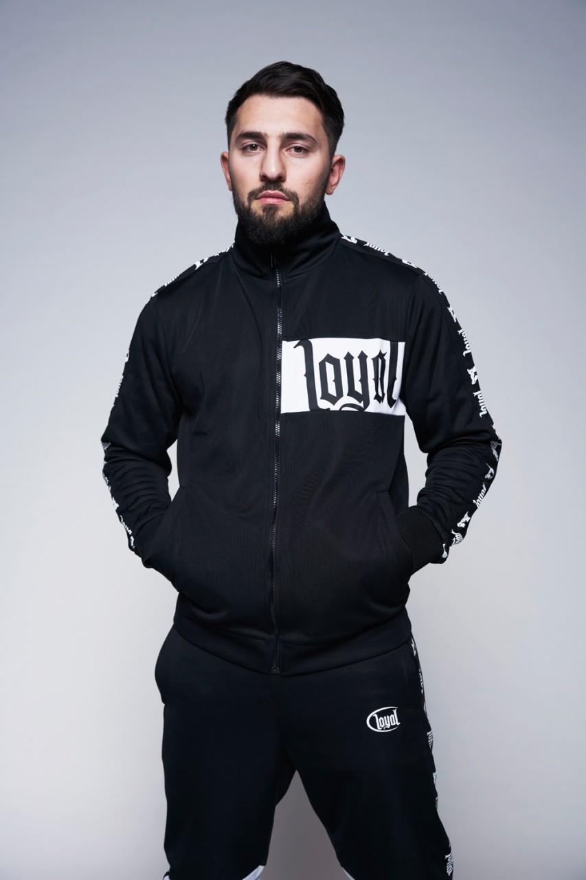 Black and White Track Jacket