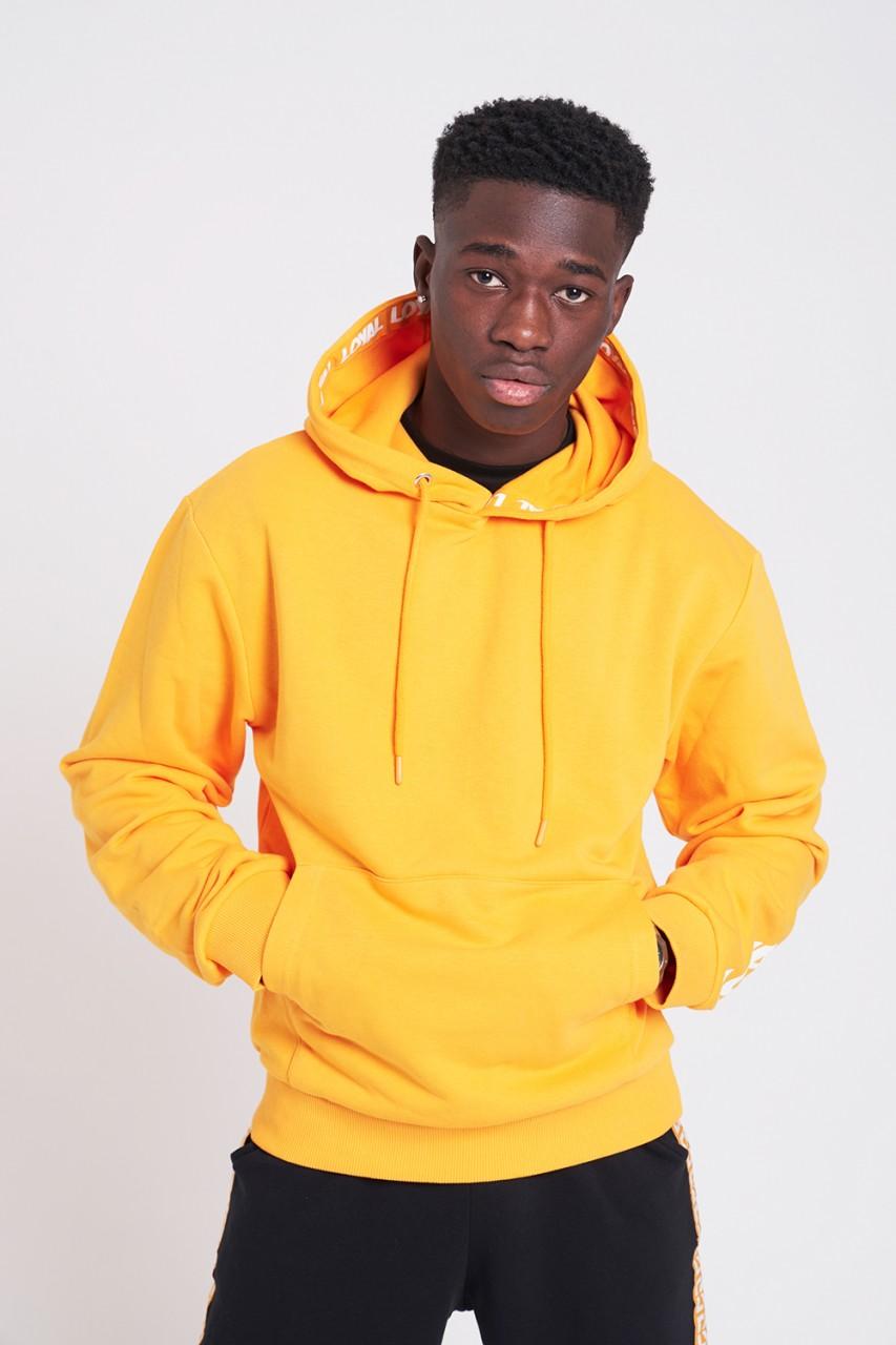 Athletics Bold Hoodie Yellow