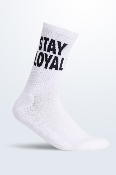 Stay Loyal Black Socks