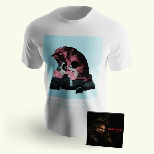 ADLIDSZ Album & T-Shirt Bundle Asphalt & Tennissocken