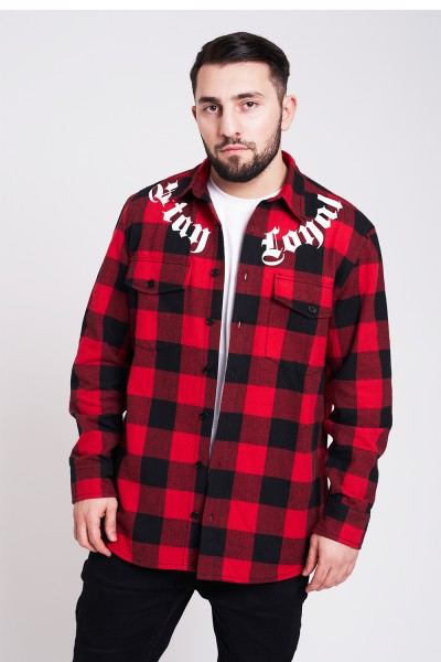 Stay Loyal Flannel Shirt